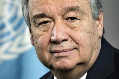 Dejme míru přednost před vším ostatním, říká Antonio Guterres