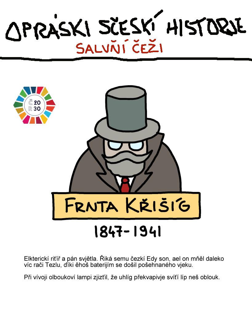 František Křižík udržitelný rozvoj