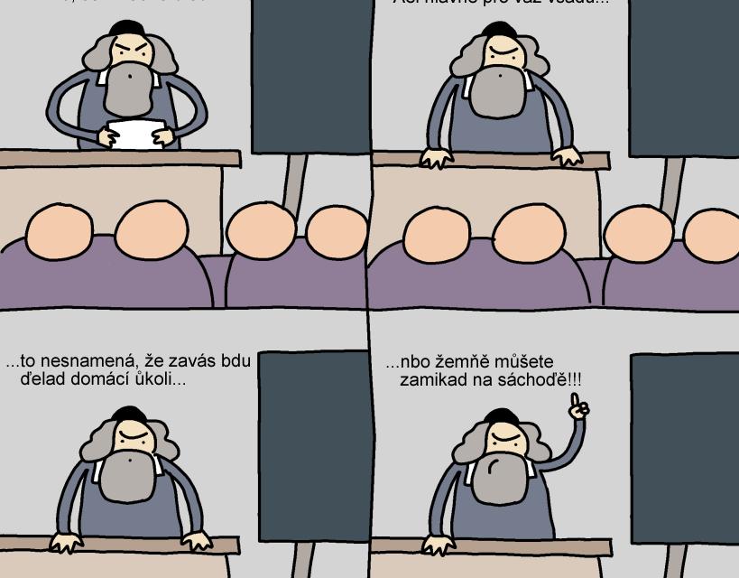 Jan Ámos Komenský: Práce sinformacemi znamená moc