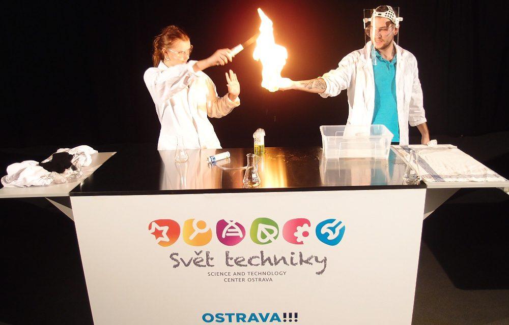 Svět techniky Ostrava: Populární věda pro všechny generace
