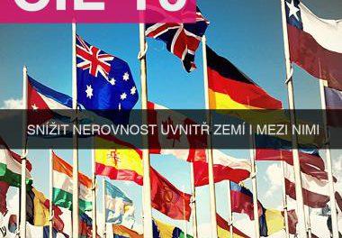 SDG 10: Snížit nerovnost uvnitř zemí a mezi nimi