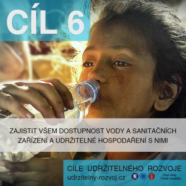 SDG 6: Pitná voda a sanitační zařízení dostupné všem