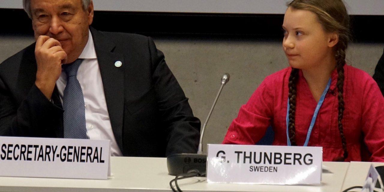 """""""Změna přichází, ať se vám to líbí, nebo ne,"""" vzkázala na COP 24 švédská aktivistka."""